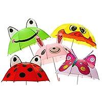 3D Artifical Butterfly Children Umbrella Children