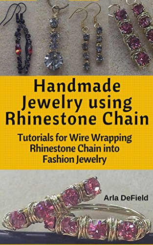 handmade-jewelry-using-rhinestone-chain-tutorials-for-wire-wrapping-rhinestone-chain-into-fashion-je