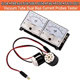 Nobsound 8-Pin Dual Bias Stromsonden Tester Meter Current Probe Tester Meter für EL34 KT88 6L6 6V6 6550 Valve Tube Amplifier Tube Röhre Verstärker