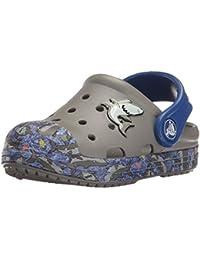 crocs Unisex-Kinder Bumpitgrphclgk Clogs