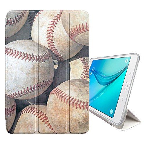 Graphic4You Baseball Thema Sport Design Smart Cover Hülle Dünn Tri-Fold Schlank Superleicht Ständer Cover Schutzhülle Tasche für Samsung Galaxy Tab S4-10.5