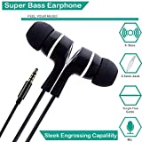 #7: Zoyo Dvaio In Ear Earphones With Mic & Super HD Bass Stereo