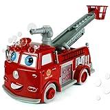 Seifenblasen Feuerwehr Bubble Fire Fighter Lustiges Feuerwehr-Auto Feuerlöscher-Auto Noyan®