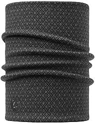 SET - BUFF® NECKWARMER MERINO Heavy Thermal Comfort Patterned Pañuelo de cabeza + UP® Ultrapower Paño tubulare   Multifuncional Accesorio de cabeza   Bufanda, Buff Design:501. DRAKE GREY - 115453.937.10.00