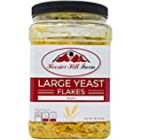 Yeast Flakes Savoury Condiment with B12 (454 grams) by Hoosier Hill Farm