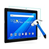 #9: Newlike Anti Glare Scratch Proof Tempered Glass For Lenovo Tab 4 10