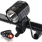 Best Bike Lights - Te-Rich Rechargeable LED Bike Light Set - 1200 Review