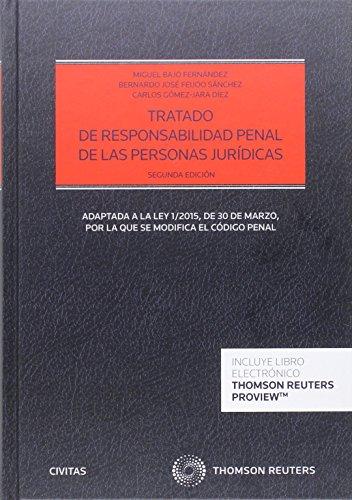 Tratado de responsabilidad penal de las personas jurídicas (2ª ed.) (Estudios y Comentarios de Legislación) por Aa.Vv.