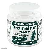 Bromelain 500 mg vegetarische Kapseln 100 Stk. - Zur Versorgung mit dem wertvollen Enzym aus der Ananas