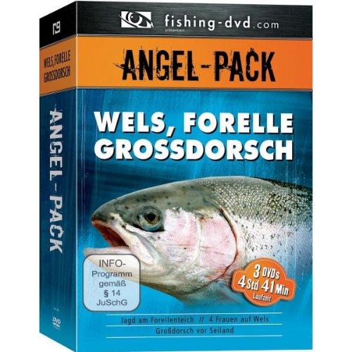 Angel-Pack - Wels, Forelle Grossdorsch[3 DVDs]