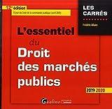 L'essentiel du droit des marchés publics...