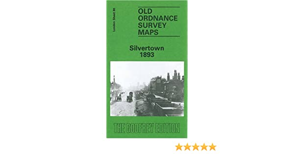 OLD ORDNANCE SURVEY MAP SILVERTOWN 1914 ROYAL VICTORIA DOCK NORTH WOOLWICH ROAD