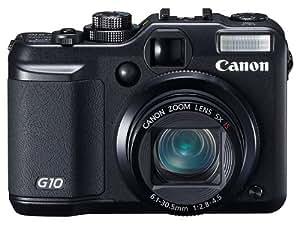 """Canon PowerShot G10 Appareil photo compact numérique Ecran LCD 3"""" 14.7 MP Zoom optique x5 Stabilisateur d'image"""