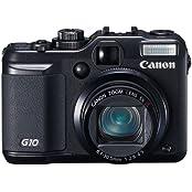 Canon PowerShot G10 Digitalkamera (14,7 Megapixel, 5-fach optischer Zoom, 7,6 cm (3 Zoll) Display) schwarz