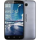 Ulefone U007 Pro SIM-free Smartphone 4G schermo HD 5.0 pollici Android 6.0 , Fotocamera Posteriore 8MP Anteriore 2MP, MT6735 Quad core 1.0GHz 1GB RAM 8GB ROM wifi GPS FM Dual sim dual standby GSM WCDMA FDD-LTE (Grigio)