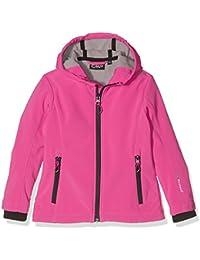 CMP - Chaqueta juvenil (tejido Softshell), otoño/invierno, niña, color Hot Pink-Argento, tamaño 12 años (152 cm)