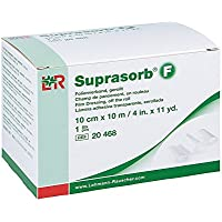 Suprasorb F Folien Wundverband 10cmx10m gerollt un 1 stk preisvergleich bei billige-tabletten.eu
