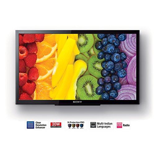 Sony 59.9 cm (24 inches) Bravia KLV-24P413D HD Ready LED TV (Black)
