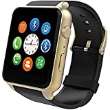 Smartwatch, Stoga ST-GT88 Wasserdichte Pulsuhr Bluetooth Smartwatch für IOS Android System Smartphone - Gold