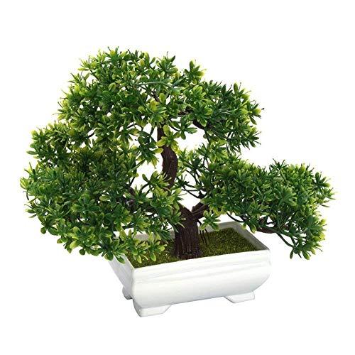Deanyi Künstliche Bonsai Baum Fälschungs Pflanze Dekoration Topf Green House Pflanzen für Hausgarten Dekor Desktop Display Home Zubehör