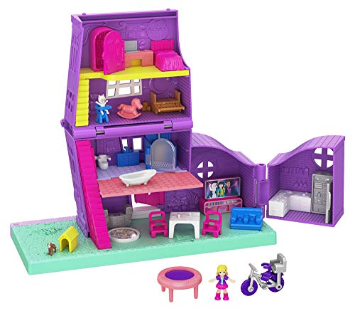 Polly Pocket GFP42 - Pollys Haus Puppenhaus