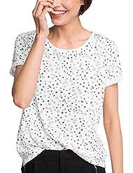 Esprit Mit Modischem Aufdruck, Camiseta Para Mujer