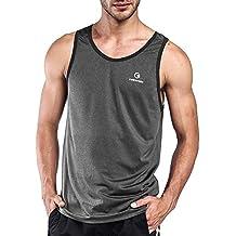 374a41b3d3e6 Ogeenier Herren Sommer Sport Tank Top Muskelshirt für Training Gym Fitness    Bodybuilding