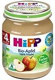 Hipp Bio-Apfel, 6-er Pack (6 x 125 g) - Bio