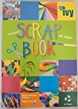 SCRAPBOOKS EXTRA LARGE JUMBO 64 COLOURED PAGES 370mm x 240mm [BUMPER PACK OF 3 BOOKS]