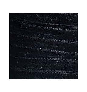 Ms - Ruban velours noir, bobine de 5m