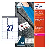 Avery L4784-20 Selbstklebende Namensschilder