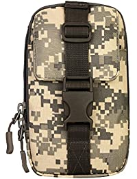 MagiDeal Outdoor Sports Molle Waist Bag Phone Case Pocket Belt Pouch Fanny Pack - Acu Digital, As Described