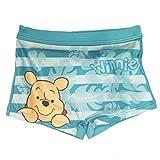 Costume da bagno Winnie The Pooh per Bambini 6 - 12 - 18 - 24 Mesi Disney (12 mesi, Verde Acqua)