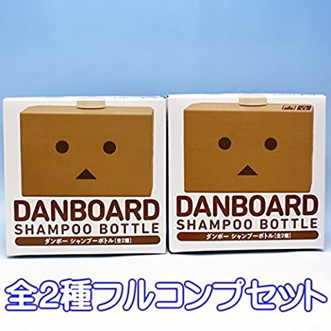 Cardboard shampoo bottle DANBOARD SHAMPOO BOTTLE Yotsubato Anime prize Taito all two Furukonpu set