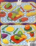 44 tlg Lebensmittel Set fuer Spielkueche schneidbar Obst Gemuese uvm. (2x22tlg)
