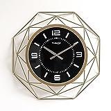 Anyer Mode Kreative Wohnzimmer Wanduhr Einfache Uhr Persönlichkeit Taschenuhr Haushalt Dekoration Uhr,Gold