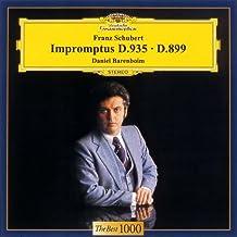 Schubert: 8 Impromptus by Daniel Barenboim (2011-11-01)