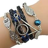 Bracelet Cuir PU Hibou Collection