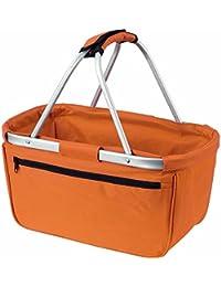 HALFAR - sac panier pliable - shopping courses provisions - 1803939 - orange