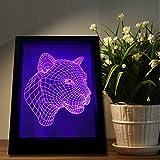 New 3D leopardo induzione lampada LED lampada nuovi - Best Reviews Guide