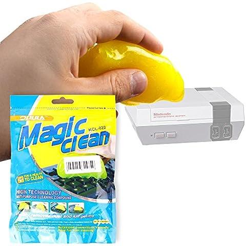 DURAGADGET Gel Limpiador Para Consola Nintendo NES Classic Mini - Excelente Sistema Para Dejar Su Teclado