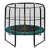 Magic Circle Pro Trampolin 244 cm mit sicherheitsnetz Grün