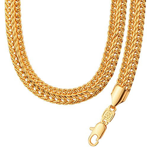 New 18K Gold Plated Bracelet Necklace Set Hip Hop Big Heavy Cool Style Chain Men's Jewelry NB60051