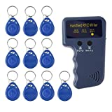 iUcar Handheld 125KHz RFID Copier/Writer/Readers/Duplicator with 10PCS ID Tags