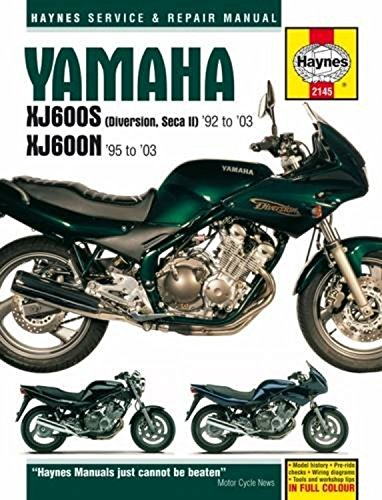 Yamaha XJ600S (Diversion, Seca II) And XJ600N Four: 92-03 (Haynes Powersport)