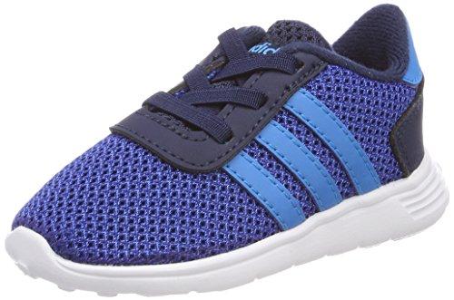 adidas Unisex Baby Lite Racer Sneaker, Blau (Collegiate Navy/Solar Blue/Collegiate Royal), 21 EU (Herren-leinwand-tennis-schuhe)