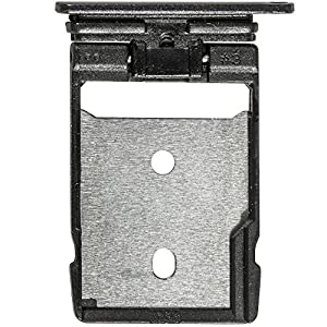 Original HTC SD Kartenhalter black / schwarz für HTC One A9 (SD Tray, Holder) - 74H03077-01M