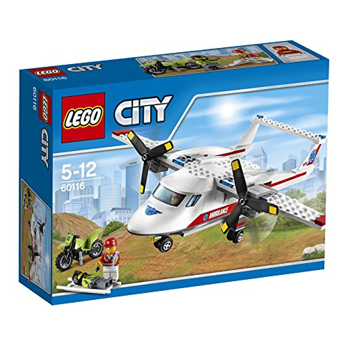 LEGO City Great Vehicles 60116 - Aereo-Ambulanza
