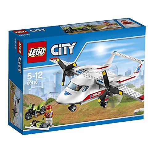 LEGO CITY - AVION MEDICO (60116)