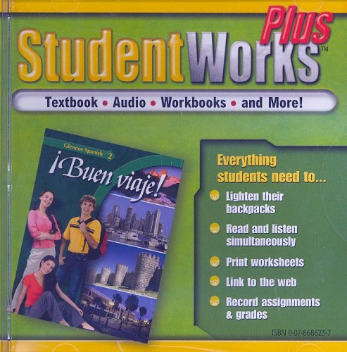Buen Viaje!, Level 2, Studentworks Plus CD-ROM (Glencoe Spanish)
